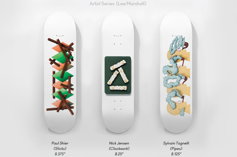 Isle Skateboards - Artist Series 1 - Lee Marshall