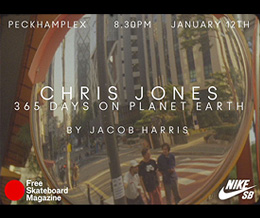 Chris Jones: 365 Days On Planet Earth